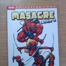 MASACRE CORPS #1 REUNION (100% MARVEL)