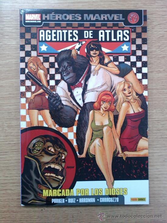 AGENTES DE ATLAS #4 MARCADA POR LO DIOSES (Tebeos y Comics - Panini - Marvel Comic)