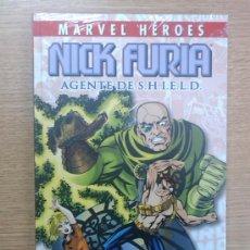 Cómics: MARVEL HEROES COLECCIONABLE #10 NICK FURIA AGENTE DE SHIELD. Lote 29652907