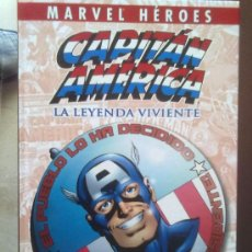 Cómics: CAPITAN AMERICA -MARVEL HEROES-. Lote 27880444