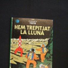Cómics: TINTIN - HEM TREPITJAT LA LLUNA - CASTERMAN - PANINI - 22,5CM X 17CM - NUEVO - SIN LEER -. Lote 27894071