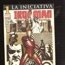 Cómics: IRON MAN DIRECTOR DE SHIELD 1. Lote 28389850