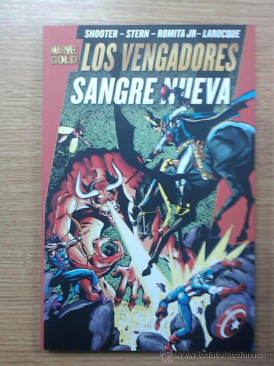 PODEROSOS VENGADORES #2 SANGRE NUEVA (MARVEL GOLD) (Tebeos y Comics - Panini - Marvel Comic)