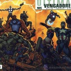 Cómics: ULTIMATES VOL 3 COMPLETA 4 NºS + ULTIMATE COMICS VENGADORES VOL 1 12 NºS PANINI - MILLAR & LOEB. Lote 29346116