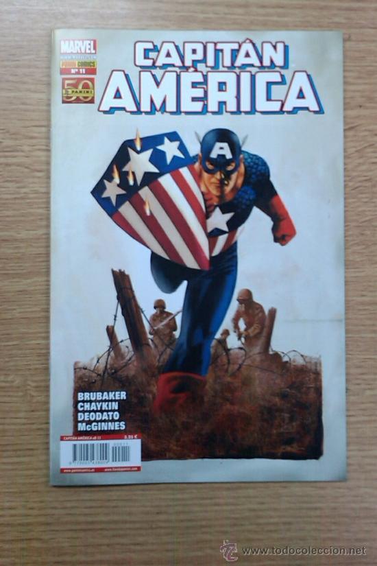 CAPITAN AMERICA VOL 7 #11 (Tebeos y Comics - Panini - Marvel Comic)