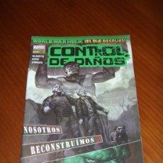 Cómics: WORLD WAR HULK - CONTROL DE DAÑOS - PANINI. Lote 30068812