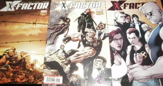 X-FACTOR X - FACTOR Nº 15 , 16 Y 17 AVENTURA COMPLETA PANINI COMICS (Tebeos y Comics - Panini - Marvel Comic)