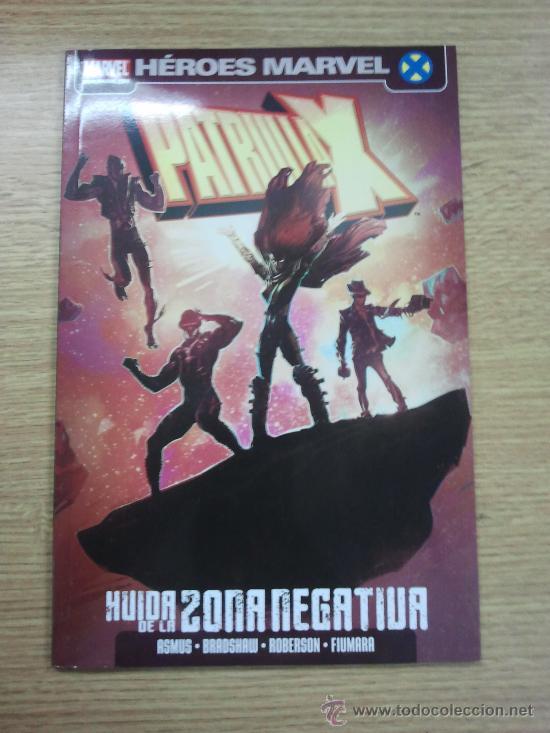 PATRULLA X HUIDA DE LA ZONA NEGATIVA (Tebeos y Comics - Panini - Marvel Comic)