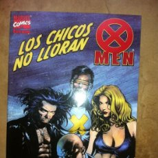Cómics: X MEN - LOS CHICOS NO LLORAN. Lote 31979588