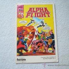 Cómics: ALPHA FLIGHT POSTAL N 3. Lote 32019716