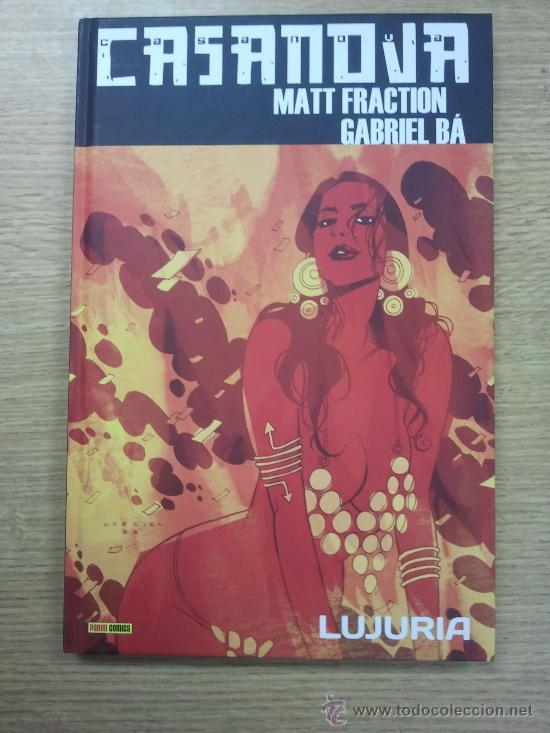 CASANOVA #1 LUJURIA (Tebeos y Comics - Panini - Otros)