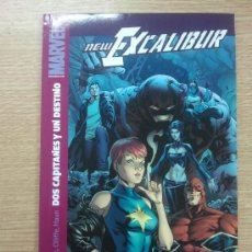 Cómics: NEW EXCALIBUR #4 DOS CAPITANES Y UN DESTINO. Lote 205844167