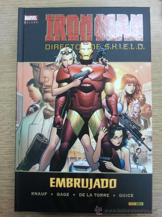 IRON MAN DIRECTOR DE SHIELD #2 EMBRUJADO (MARVEL DELUXE) (Tebeos y Comics - Panini - Marvel Comic)