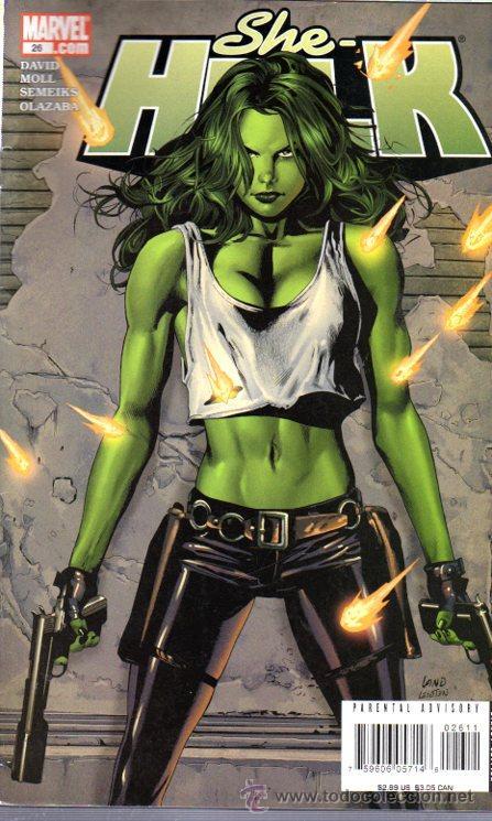 TEBEO MARVEL 26.COM, SHE HULK (Tebeos y Comics - Panini - Marvel Comic)