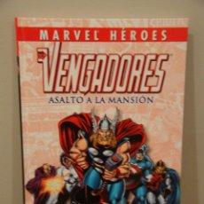 Cómics: LOS VENGADORES: ASALTO A LA MANSIÓN. COLECCIONABLE MARVEL HÉROES 24. Lote 56275597