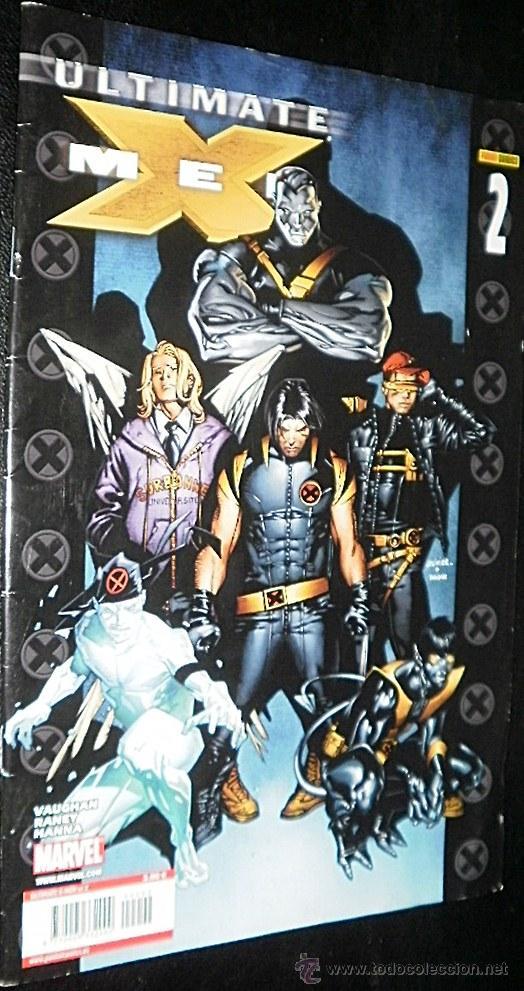 ULTIMATE X-MEN LOTE AVENTURA COMPLETA DEL Nº 2 AL Nº 4 BRIAN K .VAUGHAN & STUART IMMONEN (Tebeos y Comics - Panini - Marvel Comic)