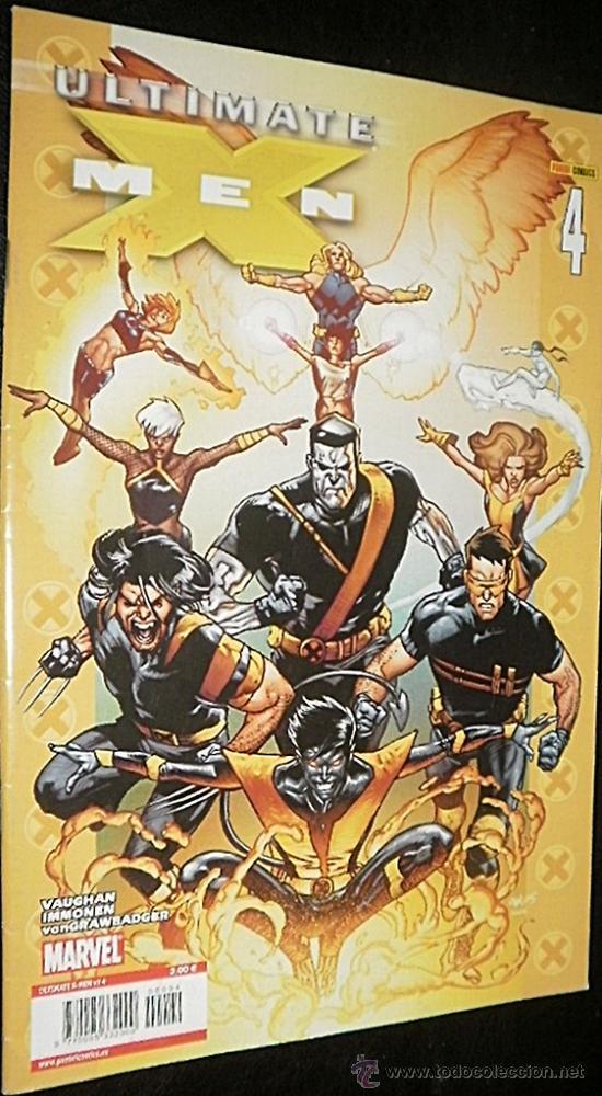 Cómics: ULTIMATE X-MEN LOTE AVENTURA COMPLETA DEL Nº 2 AL Nº 4 BRIAN K .VAUGHAN & STUART IMMONEN - Foto 3 - 35490366