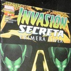 Cómics: INVASIÓN SECRETA : PRIMERA LÍNEA Nº 2 REED & CASTIELLO & CIARDO MARVEL COMICS. Lote 35511826