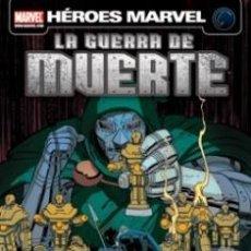 Cómics: LA GUERRA DE MUERTE (HÉROES MARVEL) (MUY BUENO)(15% DESCUENTO). Lote 35524417
