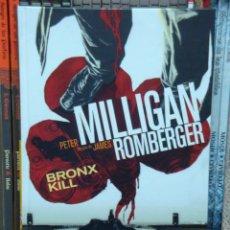 Cómics: BRONX KILL, DE PETER MILLIGAN Y JAMES ROMBERGER. . Lote 35879931