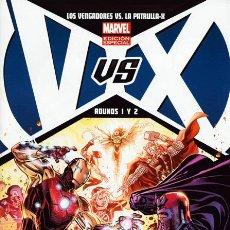 Cómics: LOS VENGADORES VS. LA PATRULLA-X ROUNDS 1 Y 2 EDICIÓN ESPECIAL BENDIS & AARON & ROMITA . Lote 36283513
