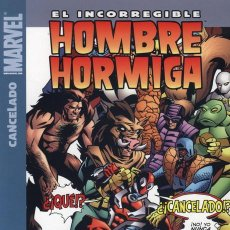 Cómics: EL INCORREGIBLE HOMBRE HORMIGA : CANCELADO Nº 2 KIRKMAN & HESTER Y PARKS. Lote 36652942
