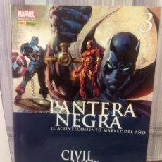 Cómics: CIVIL WAR 3 - PANTERA NEGRA. Lote 252464605