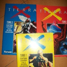 Cómics: LOTE 4 RETAPADOS PRECINTADOS - TIERRA - X - #1 A #10 - CASTELLANO - MARVEL. Lote 37412256