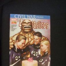 Cómics: CIVIL WAR - EPILOGO - LOS 4 FANTASTICOS - Nº 18 - PANINI - . Lote 37603282