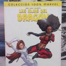 Cómics: LAS HIJAS DEL DRAGÓN -100% MARVEL- CUERPO A CUERPO. Lote 37832023