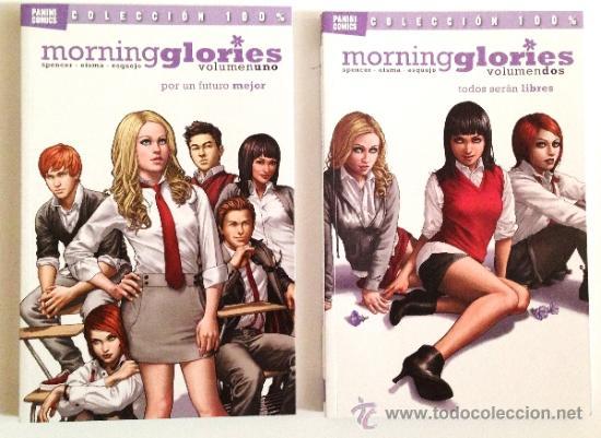 MORNING GLORIES -- PANINI COMICS -- Nº 1 Y Nº 2 (Tebeos y Comics - Panini - Otros)