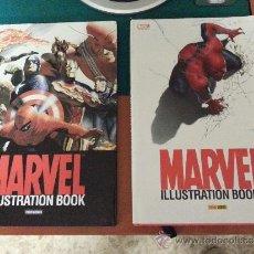Cómics: MARVEL ILLUSTRATION BOOK - TOMOS 1 Y 2 - PANINI 2005 Y 2007 - COMO NUEVOS. Lote 38311128