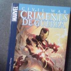 Cómics: CIVIL WAR -CRÍMENES DE GUERRA-. Lote 38480692