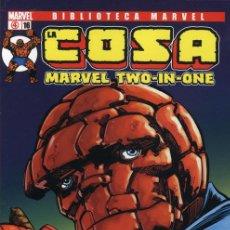Cómics: BIBLIOTECA MARVEL LA COSA - COLECCION COMPLETA 16 TOMOS PANINI. Lote 38685778