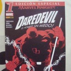Cómics: # MARVEL KNIGHTS DAREDEVIL VOL 2 Nº 1 (ED ESPECIAL) BENDIS MALEEV PANINI 2006 (#L). Lote 39090774