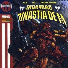 Cómics: IRON MAN : DINASTÍA DEM DE PAK & LEE & DREAM ENGINE PANINI COMICS. Lote 39167293