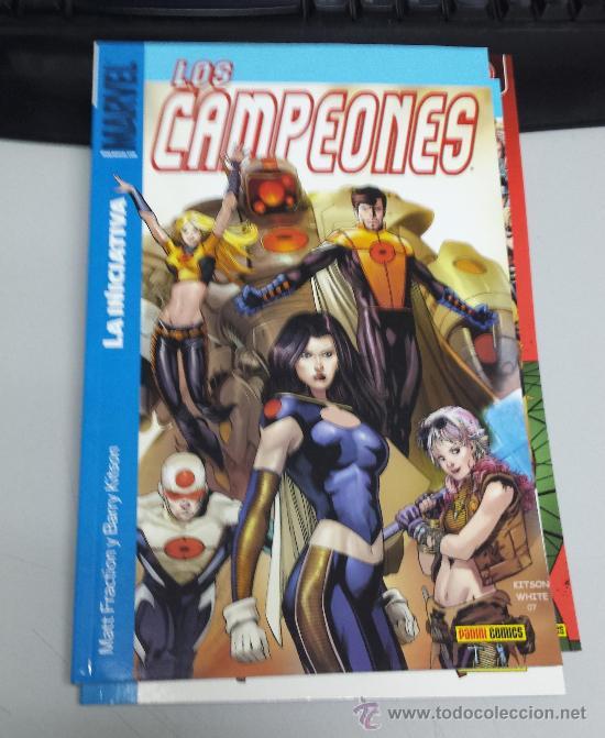 LOS CAMPEONES Nº 1 LA INICIATIVA ¡ 176 PAGINAS ! MATT FRACTION / PANINI (Tebeos y Comics - Panini - Marvel Comic)