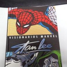 Cómics: VISIONARIOS MARVEL : STAN LEE ¡ TOMO 380 PAGINAS ! MARVEL - PANINI. Lote 39966668