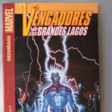 Cómics: LOS VENGADORES DE LOS GRANDES LAGOS. Lote 40544076