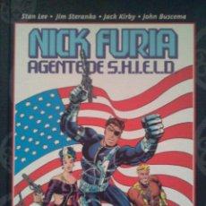 Cómics: NICK FURIA AGENTE DE SHIELD. Lote 40609283