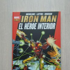 Cómics: MARVEL GOLD. IRON MAN: EL HÉROE INTERIOR, DE DAVID MICHELINIE Y BOB LAYTON. Lote 56275593