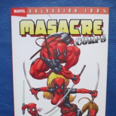 MASACRE CORPS - REUNIO - TOMO ESPECIAL 100% MARVEL