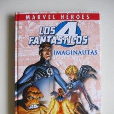 Cómics: VOLUMEN TAPA DURA MARVEL HÉROES: LOS CUATRO FANTÁSTICOS. IMAGINAUTAS. Lote 41537878