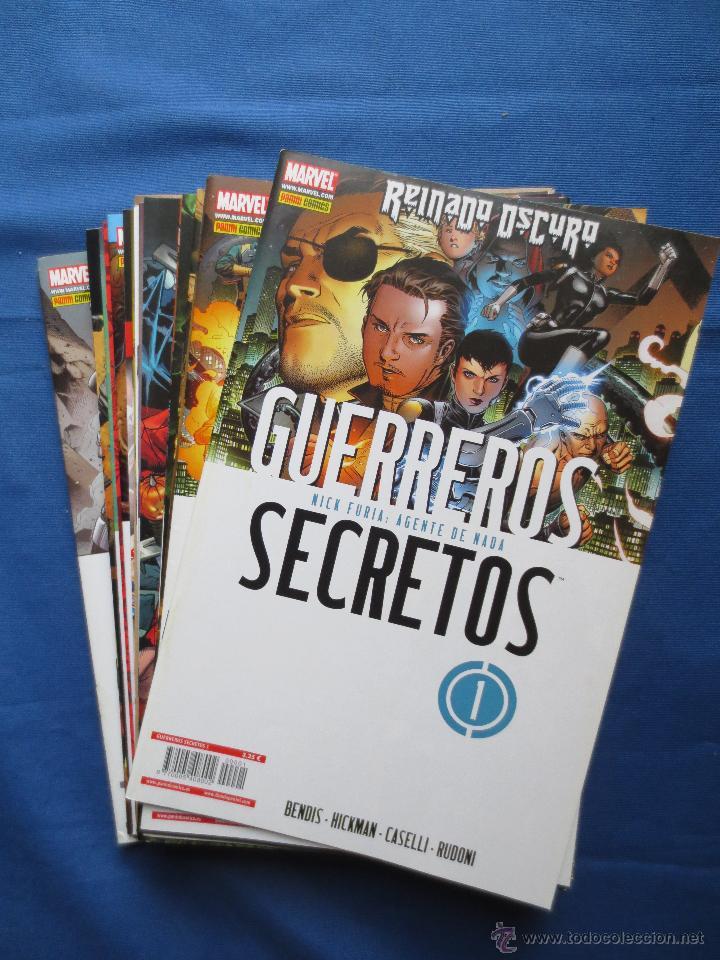 MARVEL / GUERREROS SECRETOS DE BRIAN MICHAEL BENDIS - COMPLETA 28 N.º S (FALTAN 26 Y 27) - NUEVOS (Tebeos y Comics - Panini - Marvel Comic)