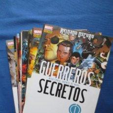 Cómics: MARVEL / GUERREROS SECRETOS DE BRIAN MICHAEL BENDIS - COMPLETA 28 N.º S (FALTAN 26 Y 27) - NUEVOS. Lote 41641021