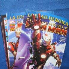 Cómics: LA EDAD HEROICA - EL INVENCIBLE IRON MAN DE MATT FRACTION Y SALVADOR LARROCA - N.ºS 1 AL 10 - NUEVOS. Lote 41641206