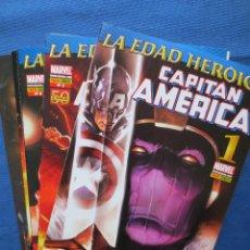 Cómics: LA EDAD HEROICA - CAPITÁN AMÉRICA DE ED BRUBAKER - NÚMEROS 1 AL 10 - NUEVOS. Lote 41643465