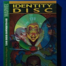 Cómics: TOMO IDENTITY DISC DE PANINI LOS 6 SINIESTROS. Lote 41990651
