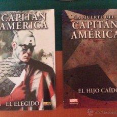 Cómics: LOTE DE 2 TOMOS MARVEL - CAPITÁN AMERICA - DE PANINI. Lote 42425909