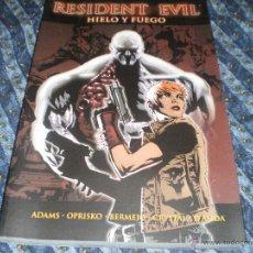 Cómics: RESIDENT EVIL Nº 1 HIELO Y FUEGO LEE BERMEJO TED ADAMS EDITORIAL PANINI 2010. Lote 42690130